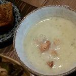 歩とり - スープ・デザート(ケーキ)