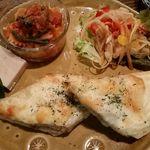 歩とり - クロックムッシュ・サラダ三種