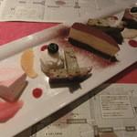 ロビンソン - デザート5種盛り合せ