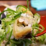 丸亀製麺 - アサリ汁ぶっかけ飯