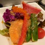 シャカ - 前菜のサラダ