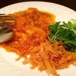 中国菜 秀 - (2016.4)えびのチリソース煮