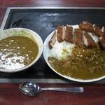 美富士食堂 - カツカレー\730+大盛り\150 2012/02