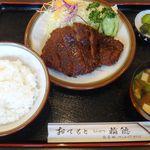 50689293 - 味噌とんかつ定食,とんかつ稲穂(愛知県安城市)食彩品館.jp撮影