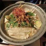きんぎょ - もつ鍋(九州味噌)1