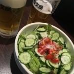 四文屋 ススキノ店 - 野菜サラダ