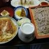 よし乃 - 料理写真:もり蕎麦セット(ミニカツ丼付)