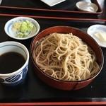 明治屋蕎麦店 - ざるそば950円