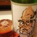 立飲山 - 蓬莱泉  可  特別純米酒   1合  410円