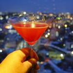 the bar/ハイアット リージェンシー 那覇 沖縄 - 那覇の夜景に「ハイサイ」w