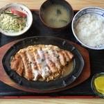 きそば 札幌 小がね - ライスも盛り良く食べ応えございます。