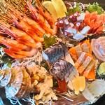炭焼鮮家 たま鳥 - 料理写真:宴会刺し盛り