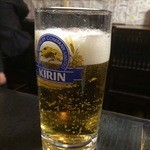 いかり亭 - 生ビール