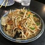 いかり亭 - 肉野菜炒め