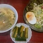 中華料理 八戒 - サービスランチのセット