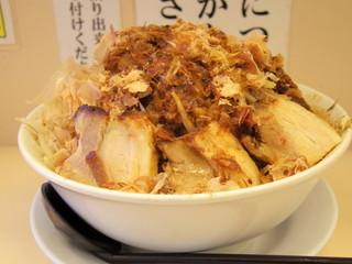 笑福 米子両三柳店 - 2016年5月 豚入りラーメン