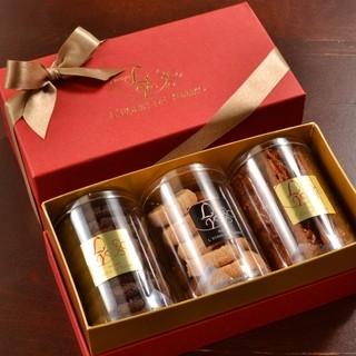 ◆お祝いやお歳暮にも♪可愛い焼き菓子の詰め合わせも御座います