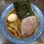 頓知房 - 煮玉子そば大盛800円+100円