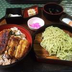 うなぎ大和田 - うな丼と茶ざる定食
