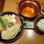 花車 - うどんすき定食(ランチ)
