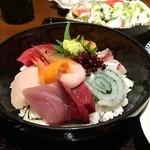 利衛門 - 海鮮丼膳アップ