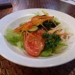 レストラン 西洋軒 - オムライスランチのサラダ