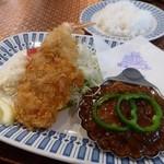 レストラン 西洋軒 - タンシチューとエビフライのセット1,400円