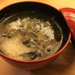 鮨竜 - 海苔汁