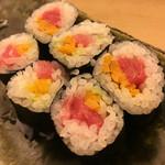 鮨竜 - とろたく細巻