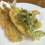 50700370 - おまかせA定食の天ぷら