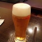 50702478 - 生ビールで乾杯♪