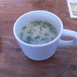 インドネパール料理 ナンカレーハウス - セットのスープ