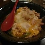 焼鳥 竜の字 - 親子丼(これも美味しい)