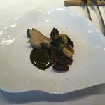50704347 - アワビの前菜