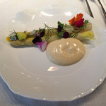 50704352 - ホワイトアスパラの前菜