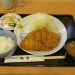 とんかつ和泉 - 本日のもちぶたサービスランチ