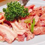 上州ホルモン - 豚バラ&頭肉