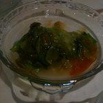 チャイナ - 前菜のレタスのオイスターソース炒め
