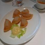 チャイナ - 海老の揚げ物マヨネーズ添え