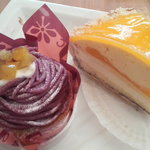 5071468 - 紫いものモンブラン、レモンパイ