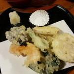 50711510 - 加賀野菜の天麩羅