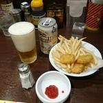 50711698 - 缶ビール  円  ポテト&チキンナゲット  308円