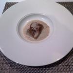 50712390 - 鶏内臓の包み焼 トリュフ香るマッシュルームのカプチーノソース
