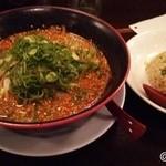 50712832 - 鶏ガラ味噌と小焼飯