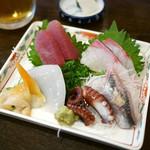 陸中 - 生ビールセット ¥1,200