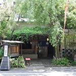 50714839 - 竹に囲まれたファサード