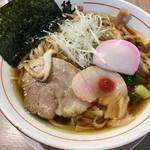 武者麺 新大阪店 - 中華そば(あっさり)