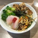 武者麺 新大阪店 - チャーシュー飯
