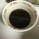らーめんとも - 追加用の濃い口スープ 2016.05