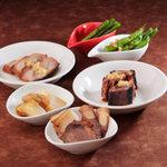 cinnabar 辰砂 - 料理写真:シェフのお任せ5品。その日によって替わる5品の逸品料理です。